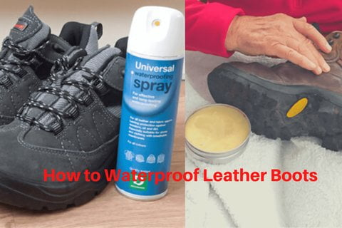 how to waterproof leather boots