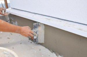 Basement waterproofing method