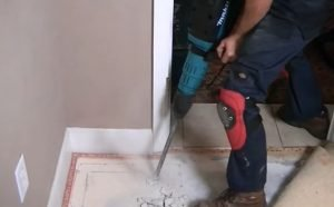 INSTALL AN UNDERFLOOR SAFE BOX ON A CONCRETE FLOO
