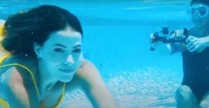 underwater scooter camera mount