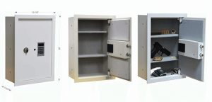 BUYaSafe WES2113-DF Fire Resistant Electronic Wall Safe
