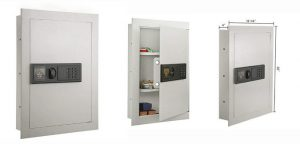 7750 Electronic Wall Safe Hidden Large Safes