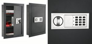 7725 Flat Electronic Wall Safe