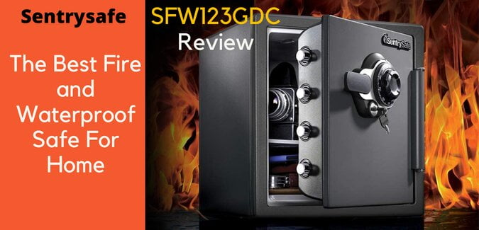 Sentrysafe SFW123GDC: Best Fire and Waterproof Safe Review